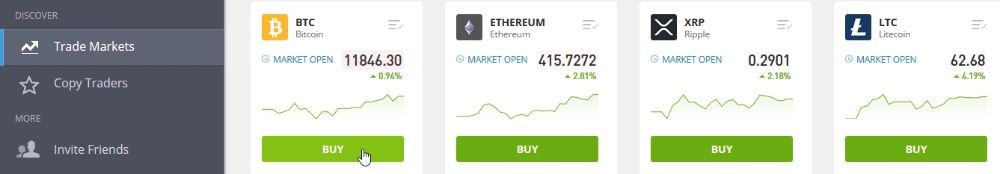 how to buy bitcoin on etoro step 1