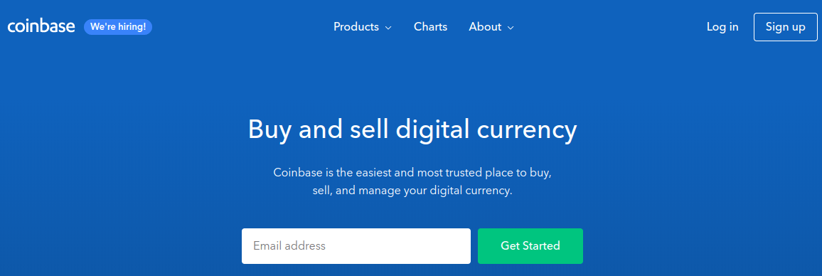 Coinbase Sign-up
