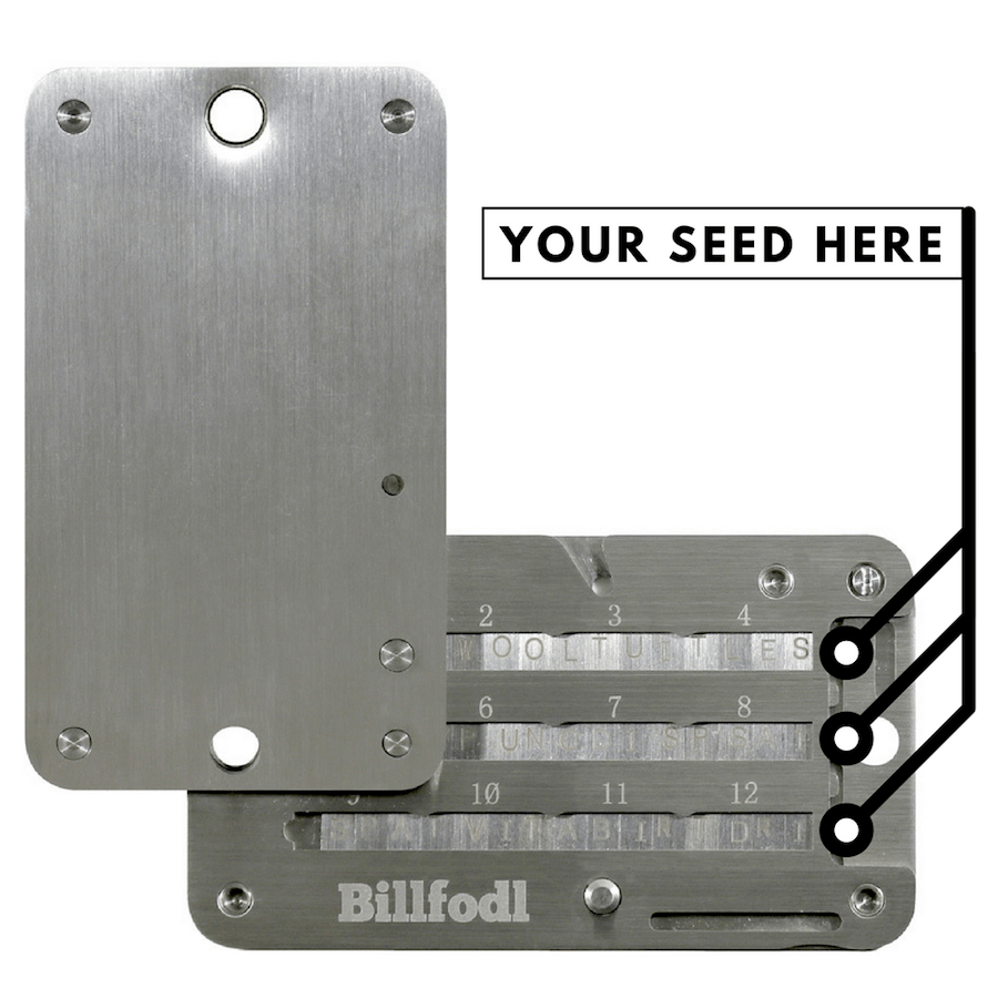 Billfodl Review: The Ultimate Wallet Seed Backup Tool