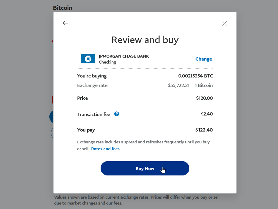 bitcoin į paypal instant)