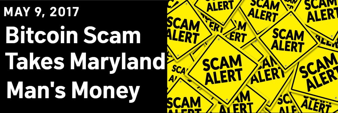 News article about scam in Maryland