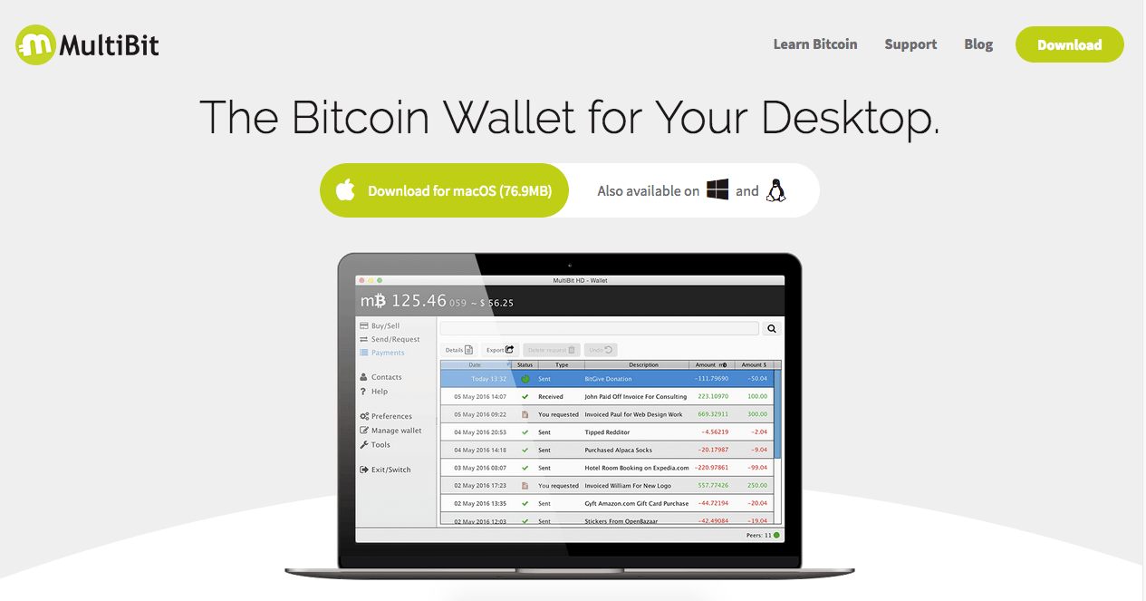 Bitcoin Desktop Wallet